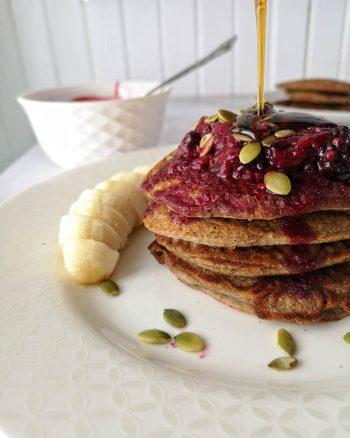 pancakes de sarrasin