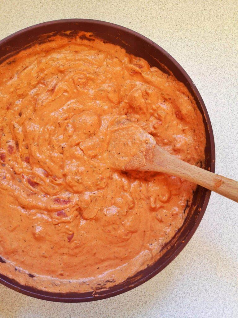 sauce rosée végétalienne