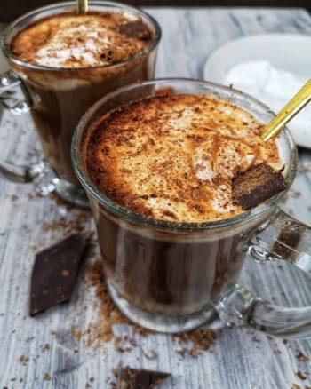 chocolat chaud mise en avant