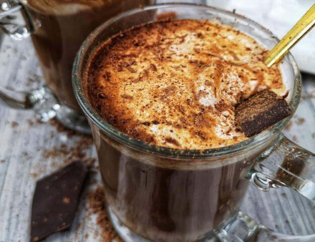 Chocolat chaud maison végan