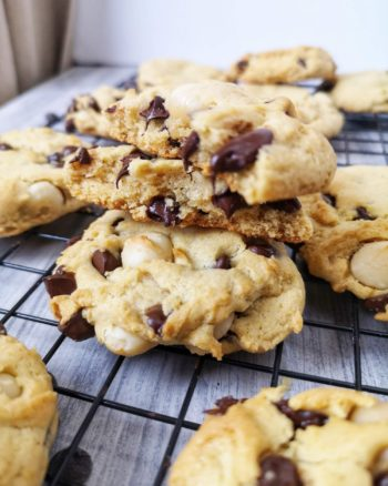 biscuits végans noix de macadam et chocolat