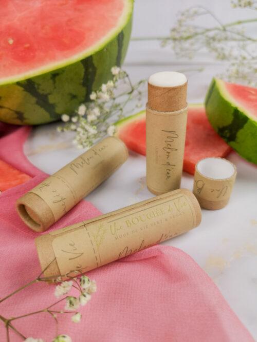 Baume à lèvres végan - Melon d'eau