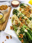 Salade césar végane toute garnie