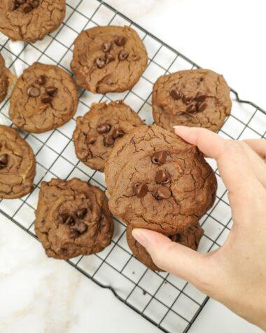 biscuits énergie double chocolat