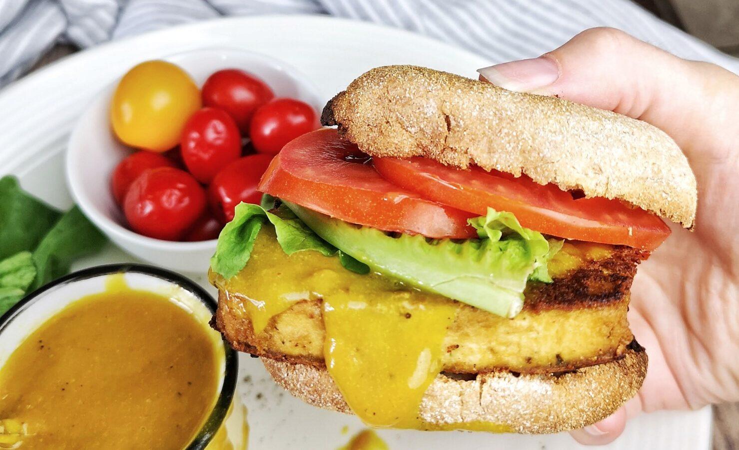 sandwich déjeuner vegan
