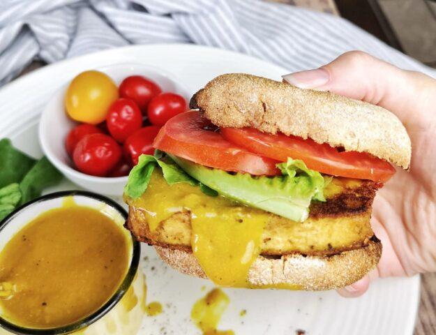 Sandwich déjeuner végan