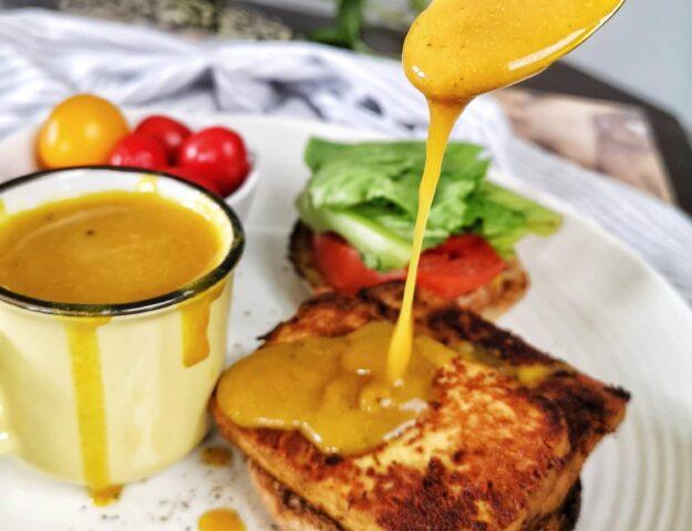 Sauce déjeuner style jaune d'oeuf végane